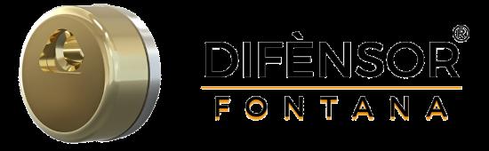 DIFENSOR FONTANA + SCRITTA